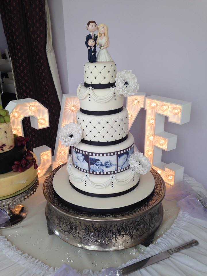 Film Reel Wedding Cake Mel S Amazing Cakes