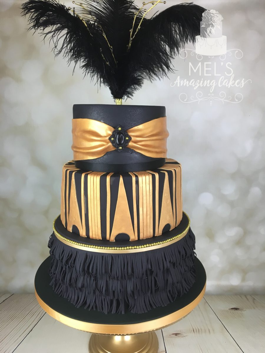 The Great Gatsby Cake