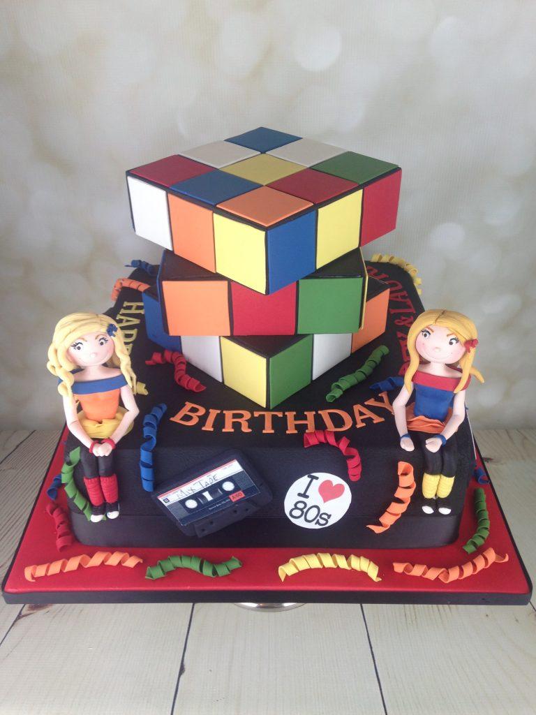 Sugar Figure Rubiks Cube