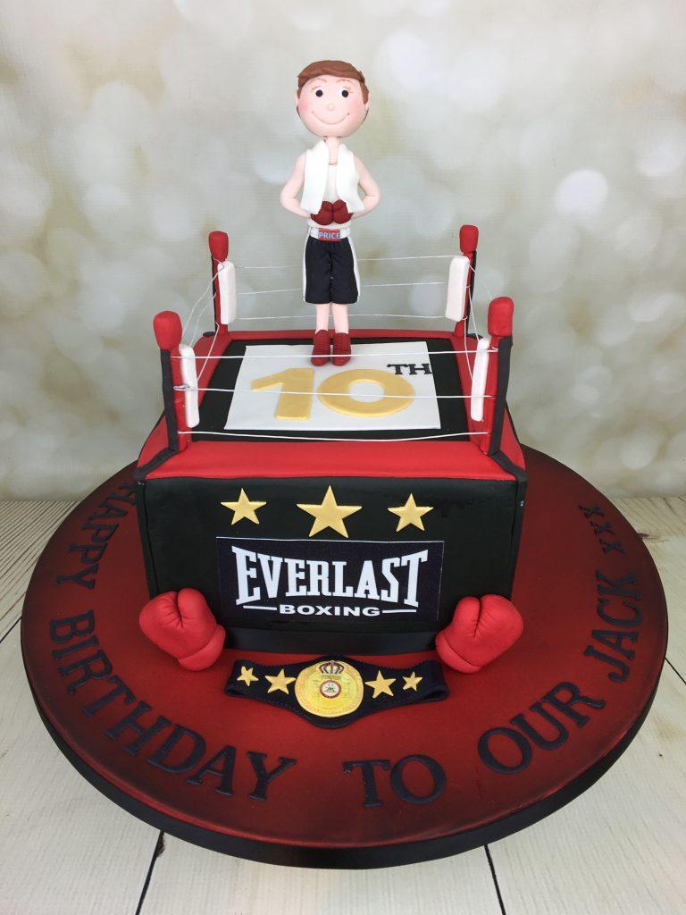 Boxing Ring Birthday Cake Mel S Amazing Cakes
