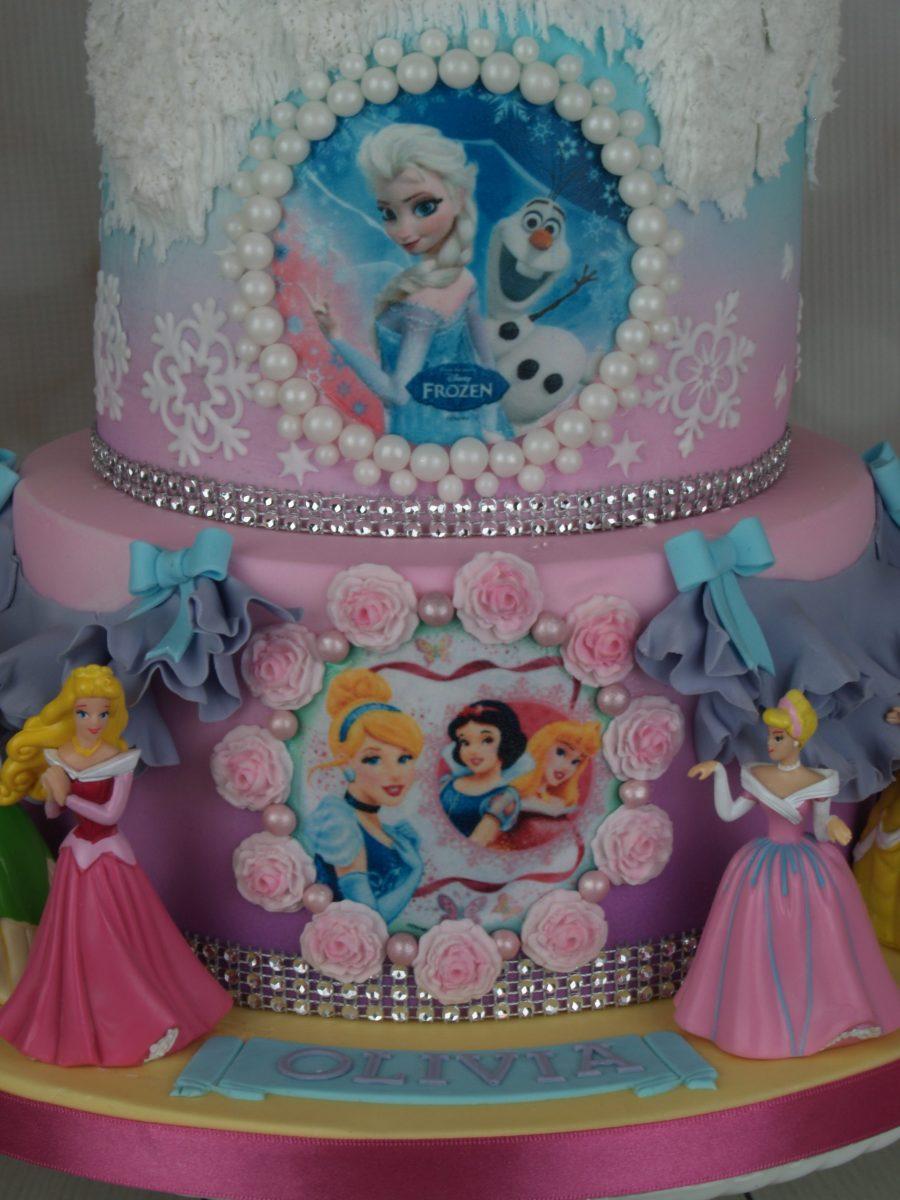 Frozen Princess Birthday Cake Mel S Amazing Cakes