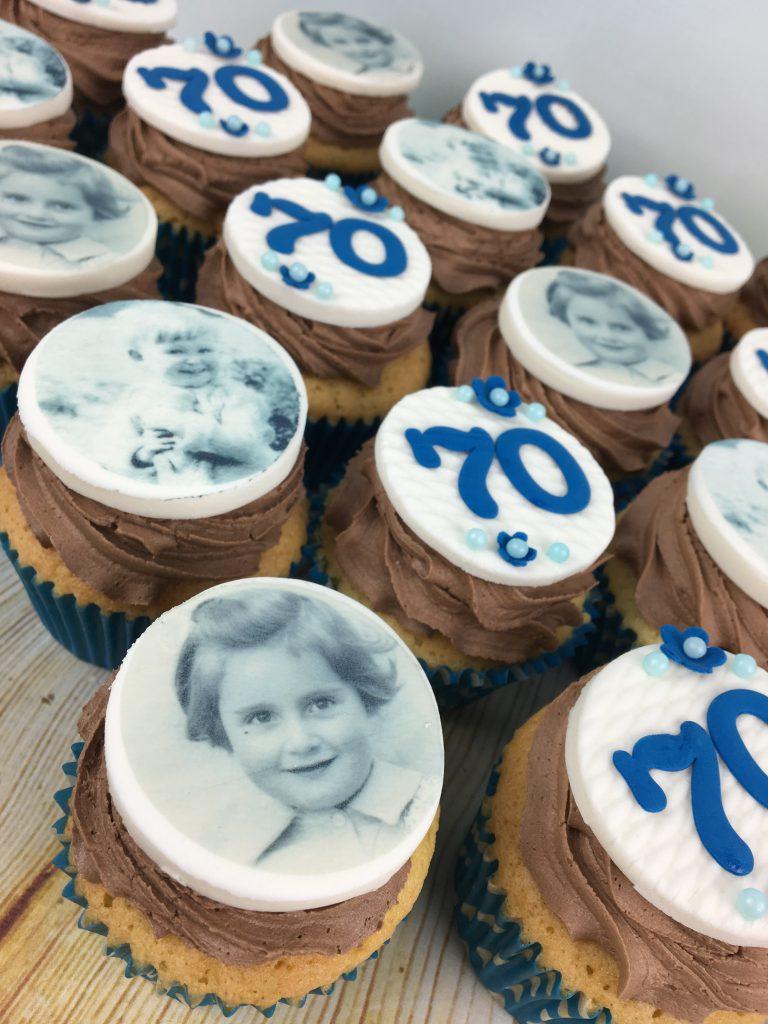 Cupcakes 70th Birthday Mel S Amazing Cakes