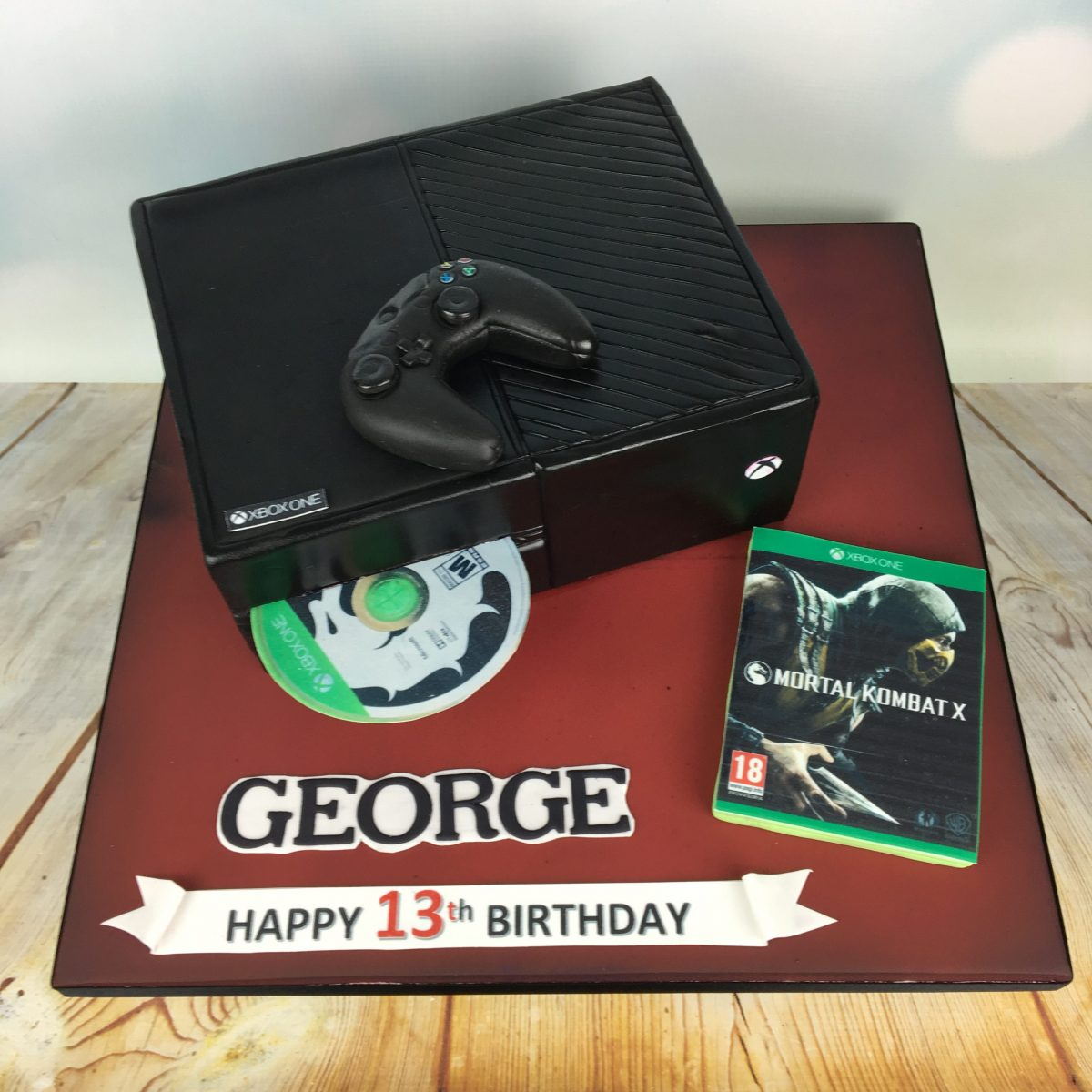 Xbox One Birthday Cake