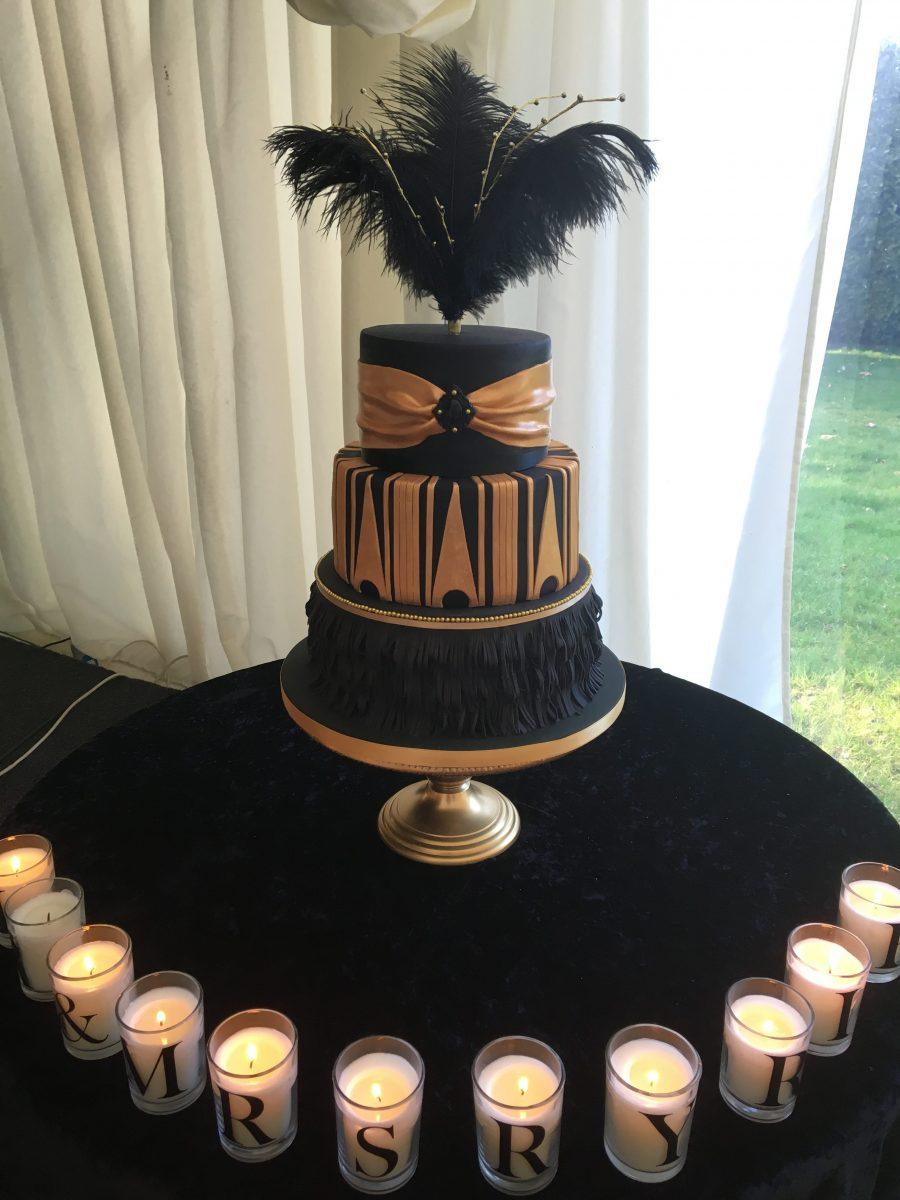 Great Gatsby Wedding Cake Mel s Amazing Cakes