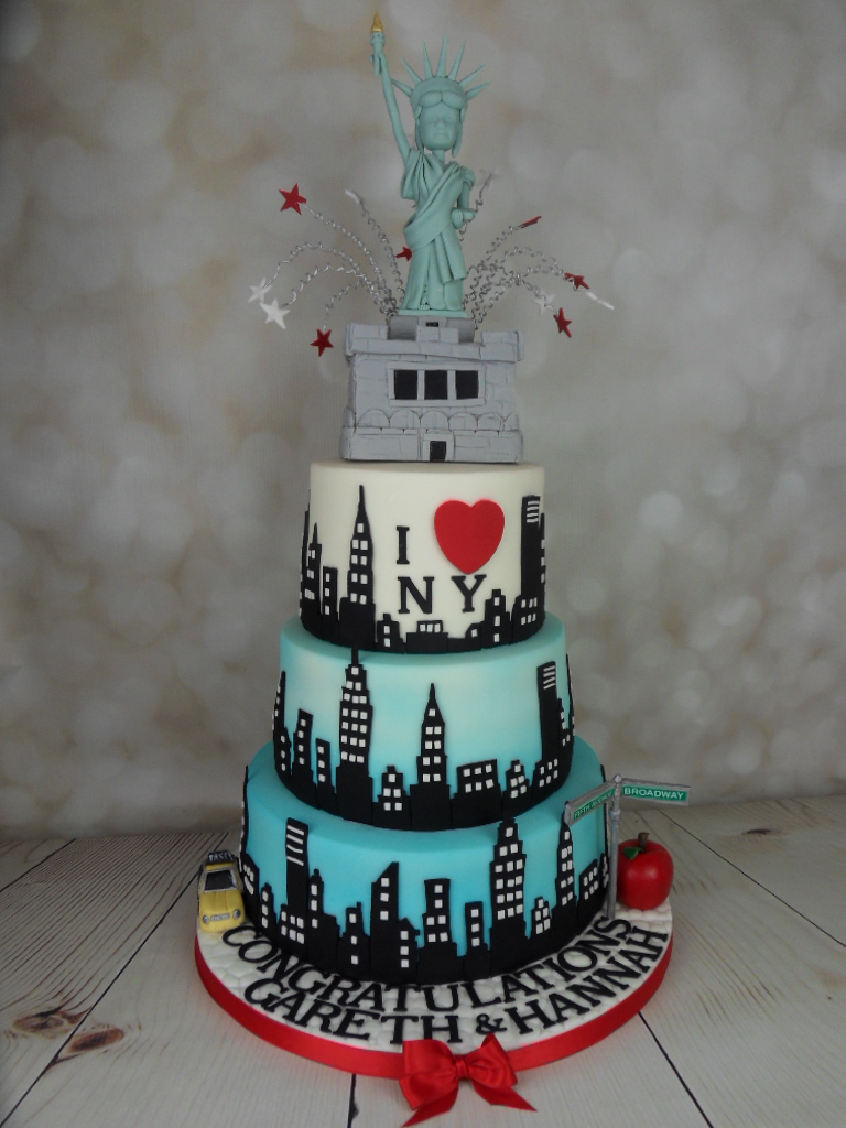I Love New York Wedding Cake Mel S Amazing Cakes