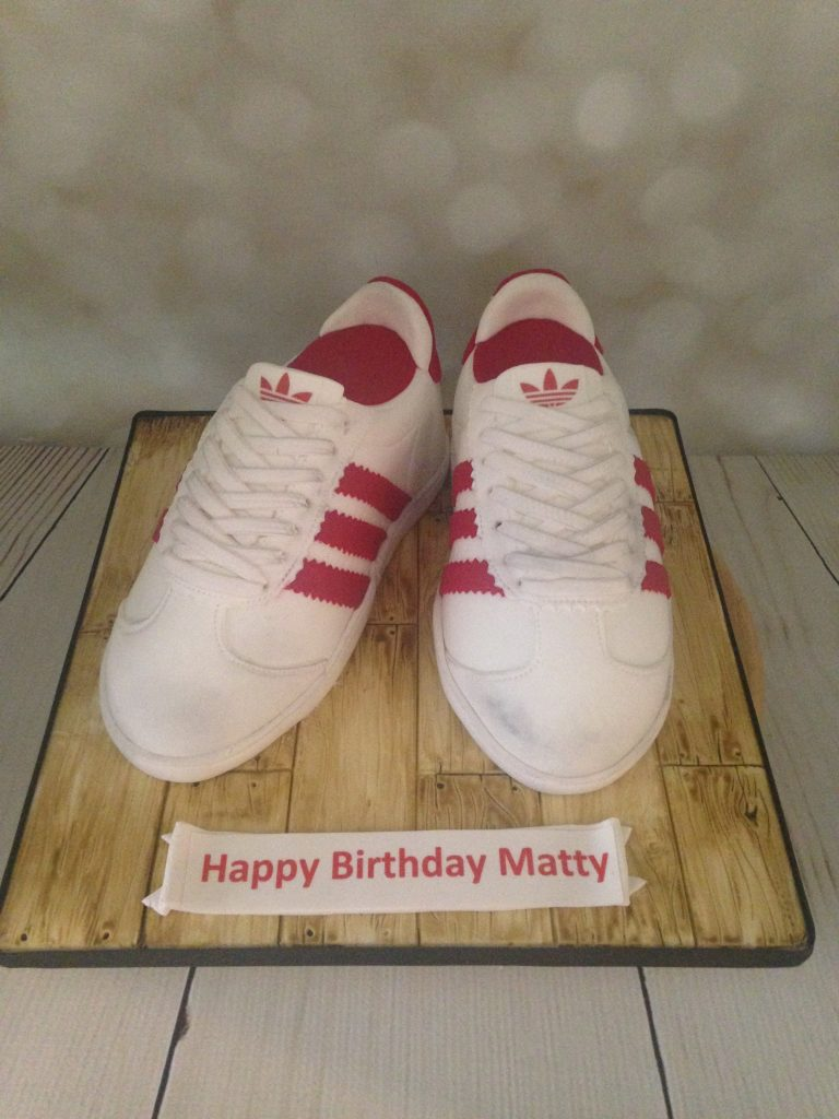 Adidas Trainers Birthday Cake Mels Amazing Cakes