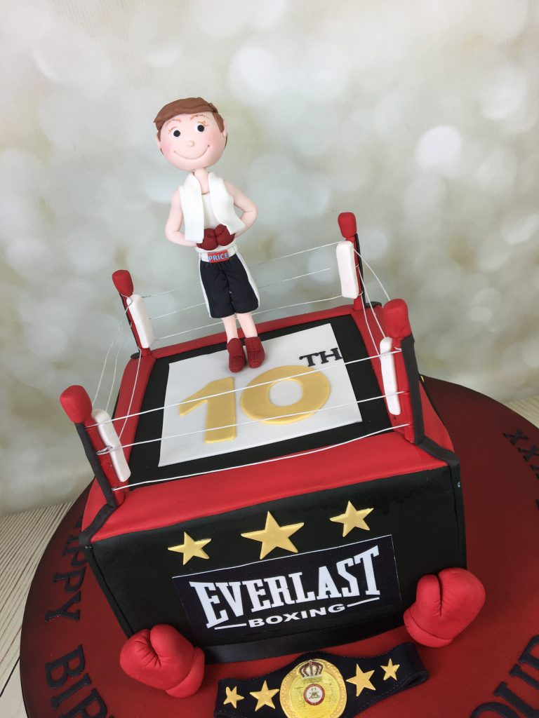 Boxing Ring Birthday Cake Mel S Amazing Cakes
