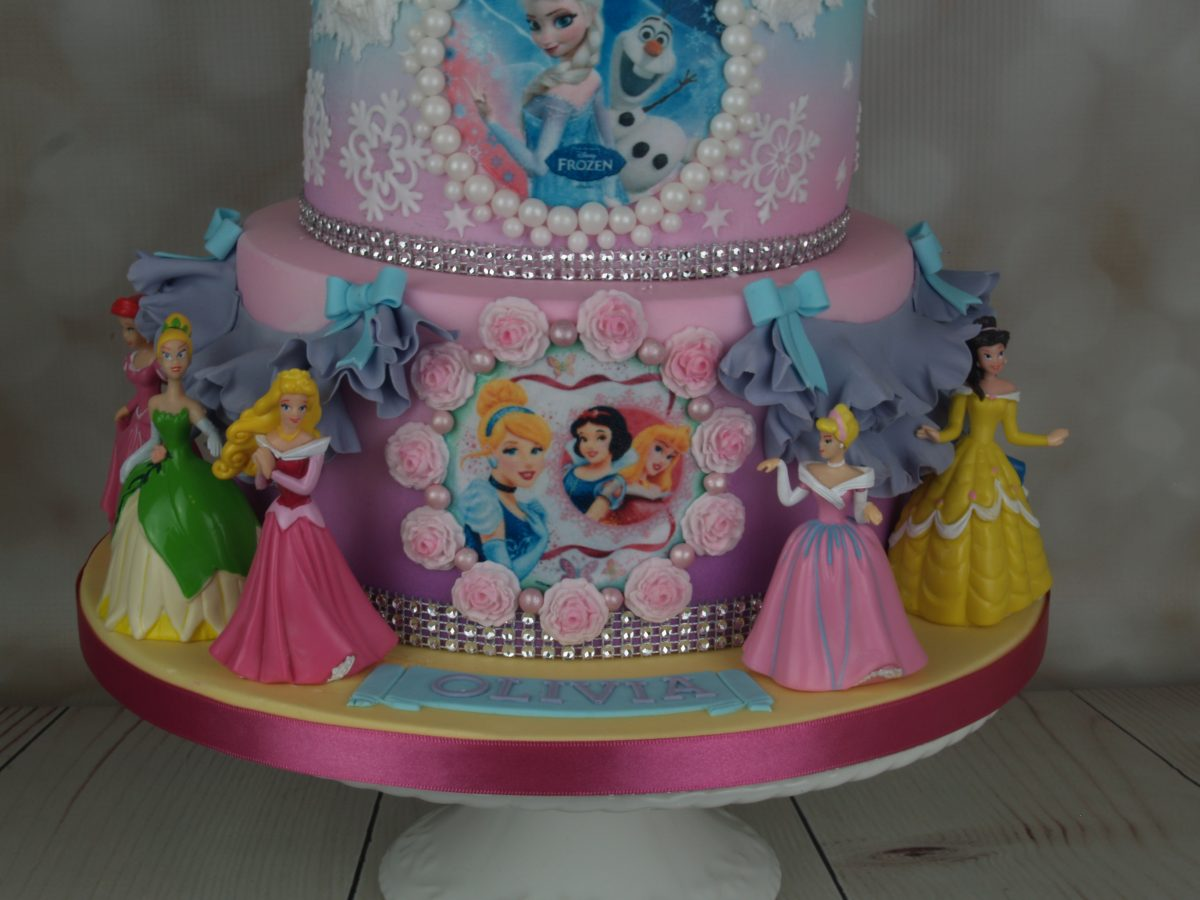 Frozen Princess Birthday Cake Mels Amazing Cakes