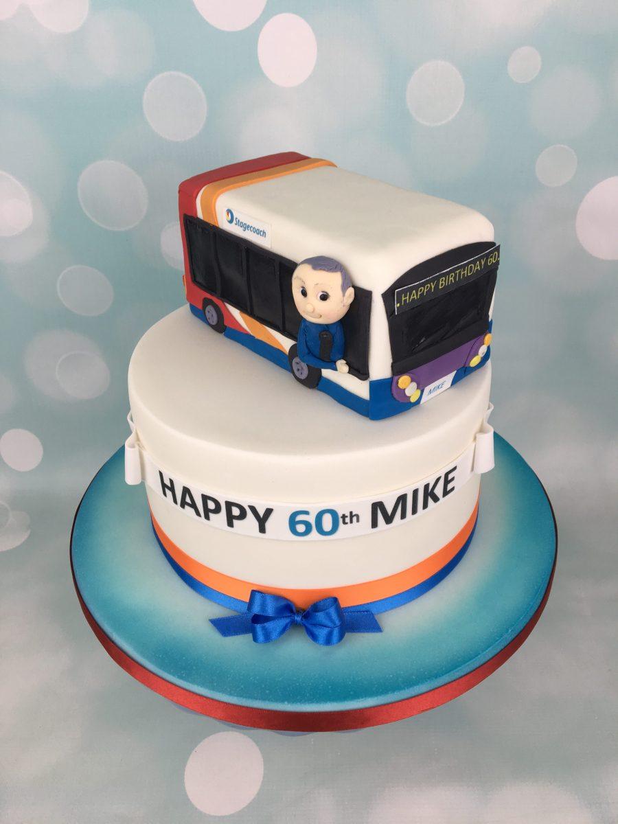 Stagecoach Bus Birthday Cake Mels Amazing Cakes