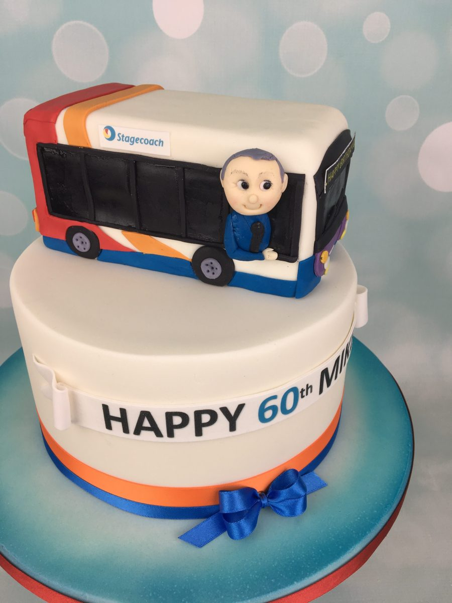 Stagecoach Bus Birthday Cake Mel S Amazing Cakes