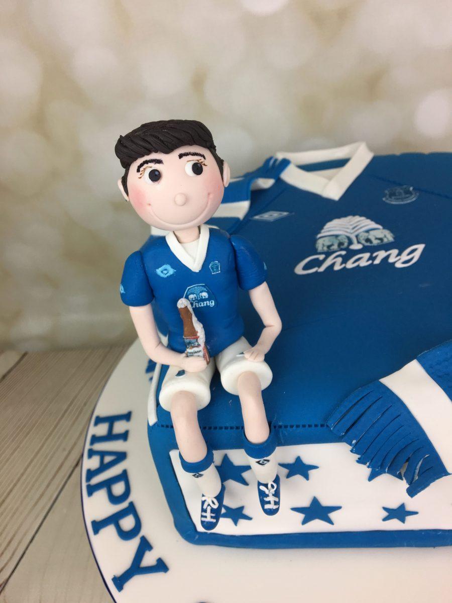 Everton Football Shirt Cake Mels Amazing Cakes