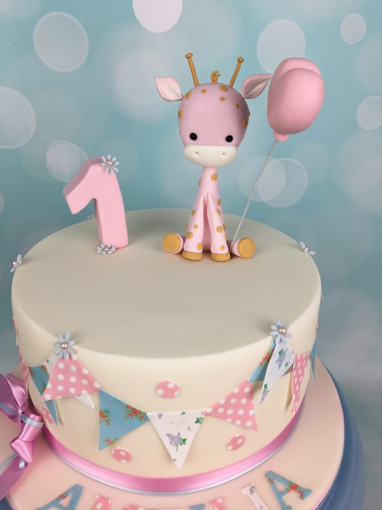 baby first birthday cake baby giraffe 1st birthday cake mel s amazing cakes 1425