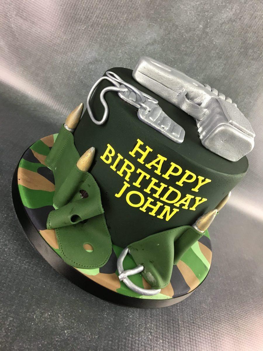 Gun Birthday Cake Mel S Amazing Cakes